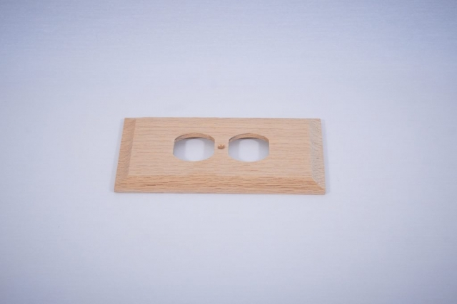 Wooden Receptacle Cover
